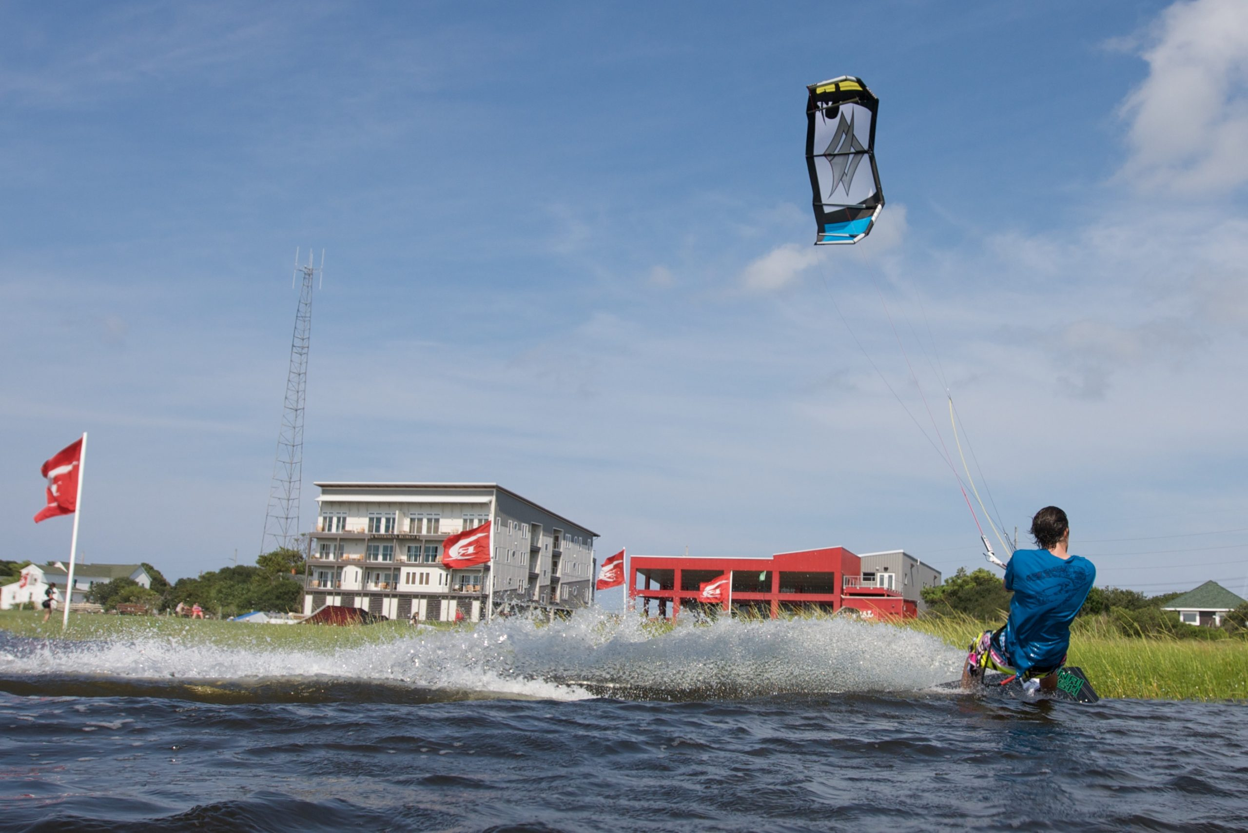 Surf gliding is one of many sports events hosted in North Carolina