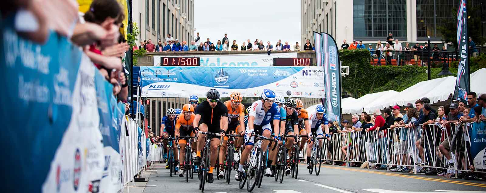 North Carolina Sports Association Cycling in Winston Salem