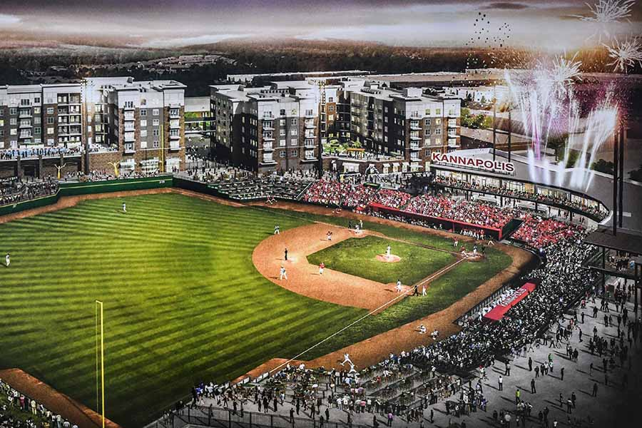 Kannapolis ballpark rendering