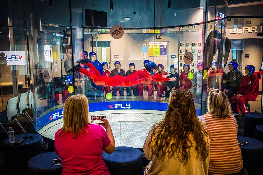 iFLY indoor skydiving Concord NC